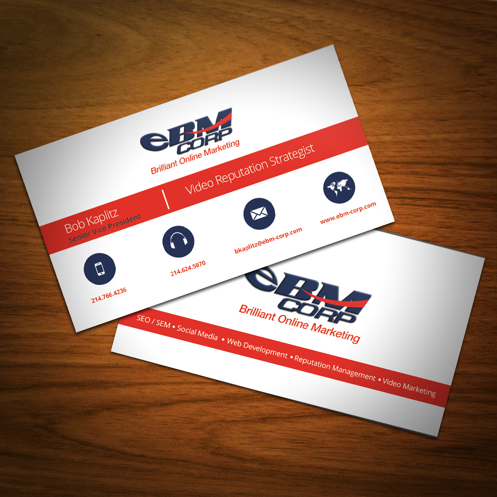 Real Versatile Technologies | EBM Corp Business Card - Real ...
