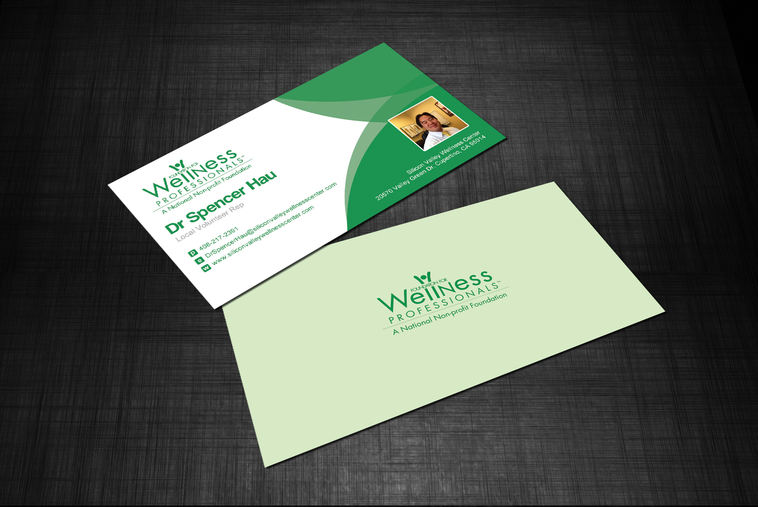 Real Versatile Technologies | Wellness Professionals Business Card ...